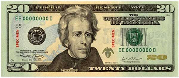 president jackson on the twenty dollar Jackson should be removed from the twenty dollar bill recognizing the injustices president andrew jackson performed, americans have considered the dispute over the removal of jackson 's face from the twenty dollar bill.